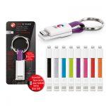 Porte-clés Câble Micro USB Personnalisé